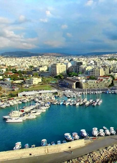 Heraklion Port View | Crete, Greece