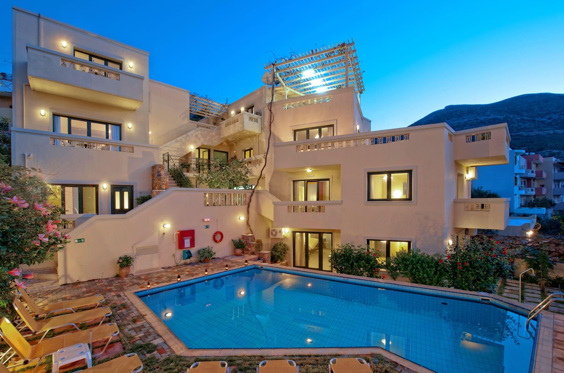 Villiana Stalis Boutique Apartments   Crete Greece